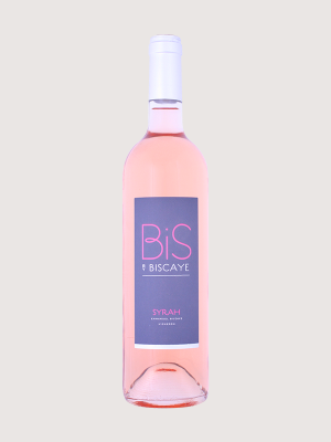 Syrah Rosé igp 'Bis by Biscaye'